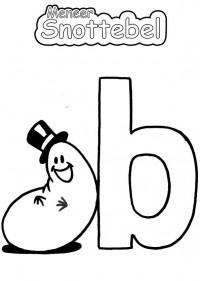 Alfabet - B