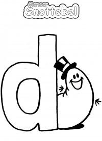 Alfabet - D