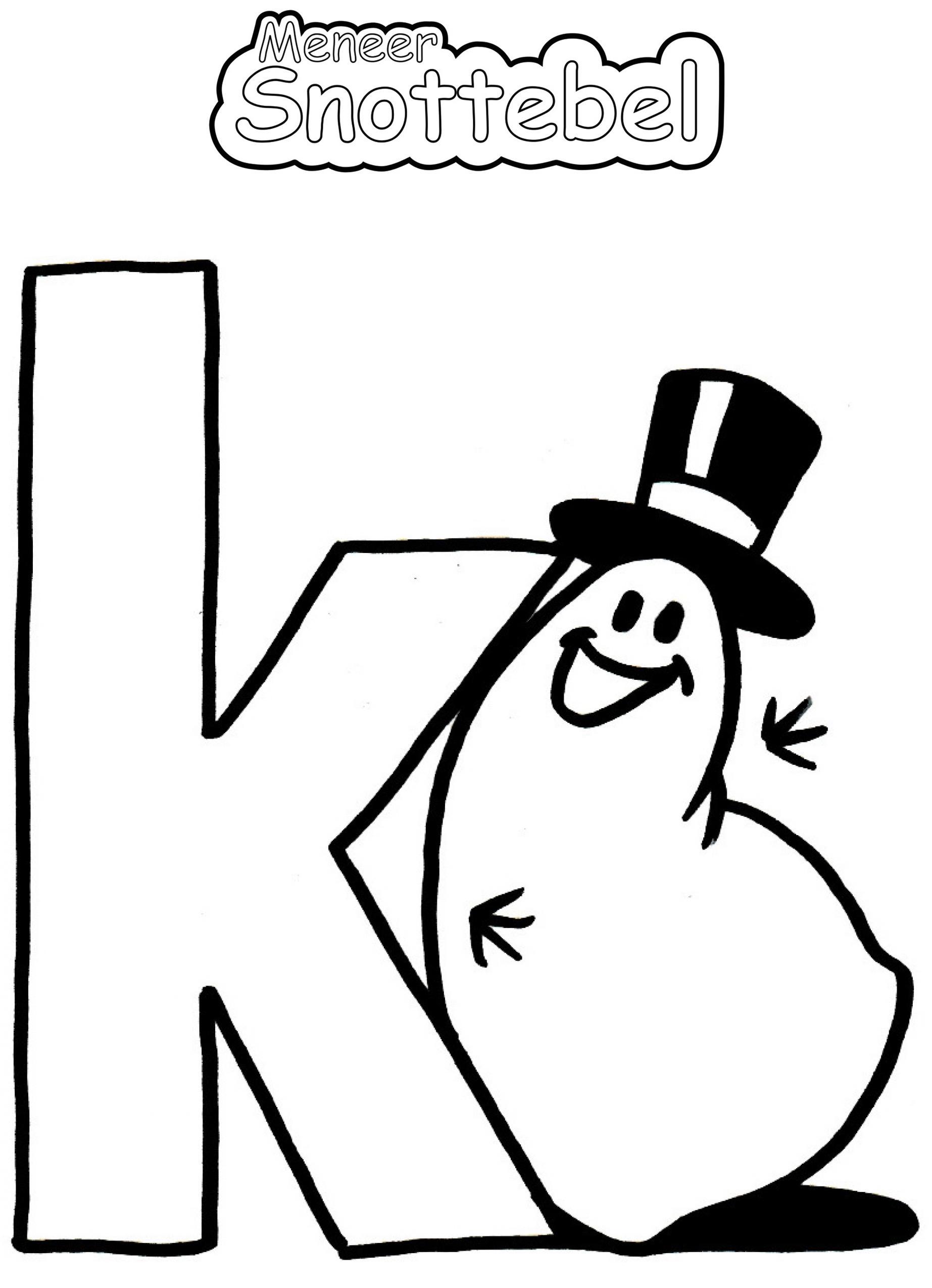 Alfabet - K