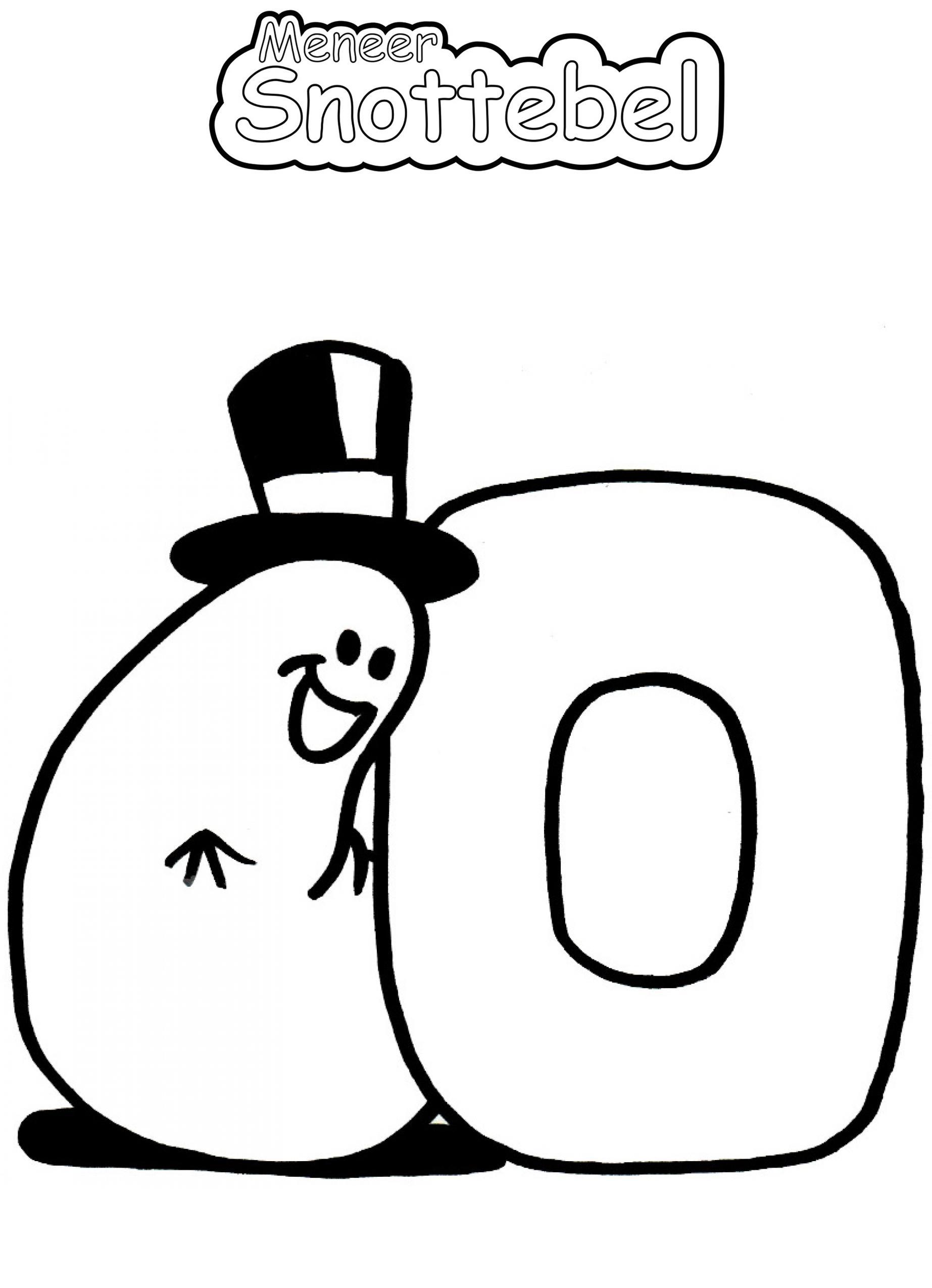Alfabet - O