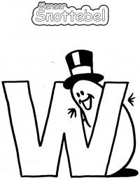 Alfabet - W